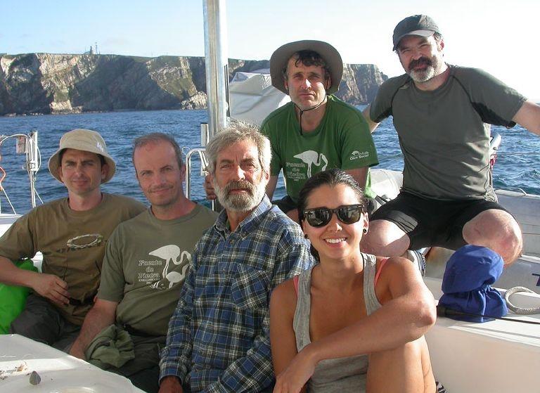 Expedicion para anillar gaviotas en colonias 27.06.16 (1)