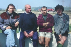 Mavea con Rico en Zeluán,1999
