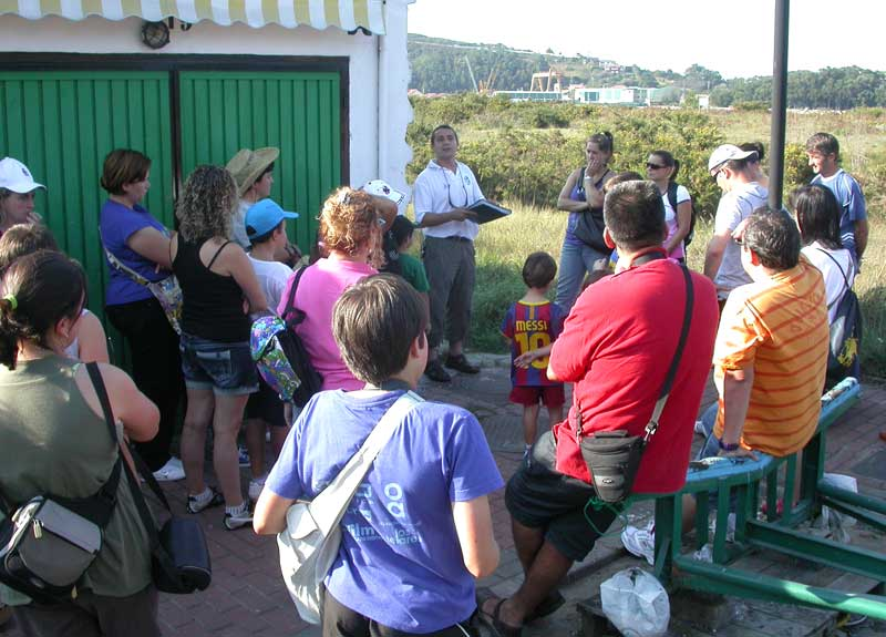 Visita de la Mancomunidad Turísitica de Avilés a Zeluán, 01.10.11