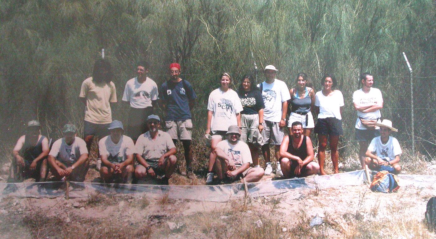Campamento Camaleón en Puerto Real Cádiz,1998