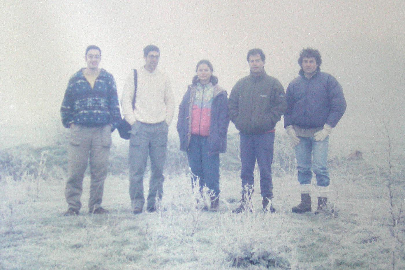Excursión a Villafáfila Zamora, 1997